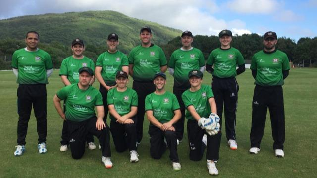 Penarth Cricket Club in their new kit sponsored by David Baker Estate Agents
