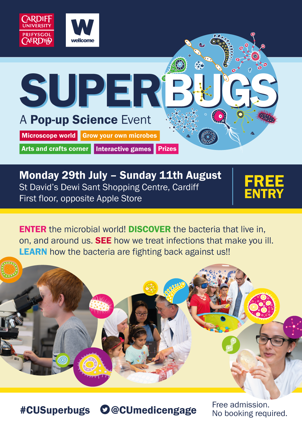 Superbugs -  A Pop-Up Science Event