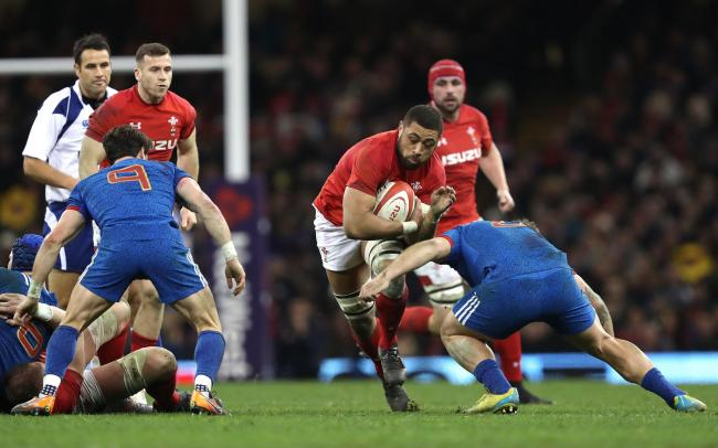 WORLD CUP AIM: Lions number eight Taulupe Faletau is eyeing a return for Wales in Japan