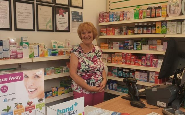 Jayne Underhill has been a fixture at the Ivor Owen pharmacy for 36 years