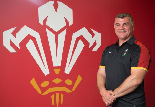 Wales head coach Rowland Phillips