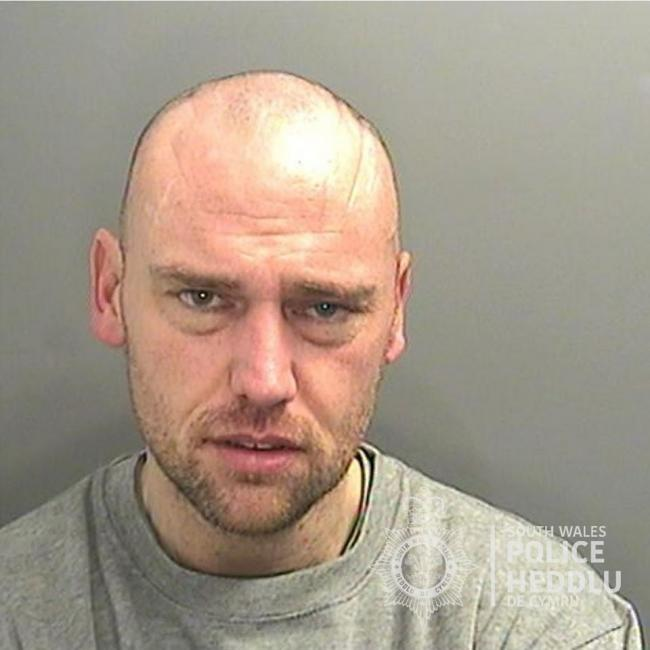James Harries is wanted in connection with an assault. Picture: South Wales Police