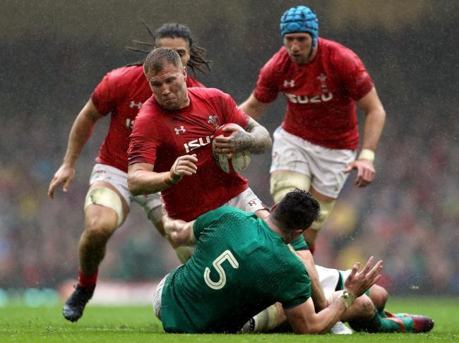 KEY FIGURE: Wales will rely on Dragons number eight Ross Moriarty at the World Cup