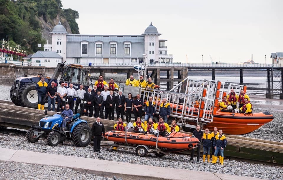 Penarth and Barry RNLI crews in BBC's Saving Lives At Sea