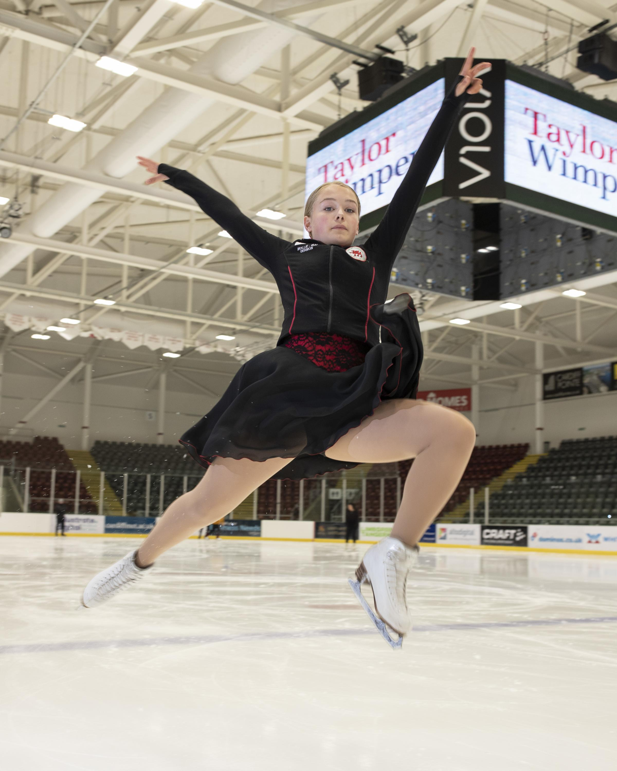 Vale ice skater Mollie Mai Germon glides ahead with sponsors boost