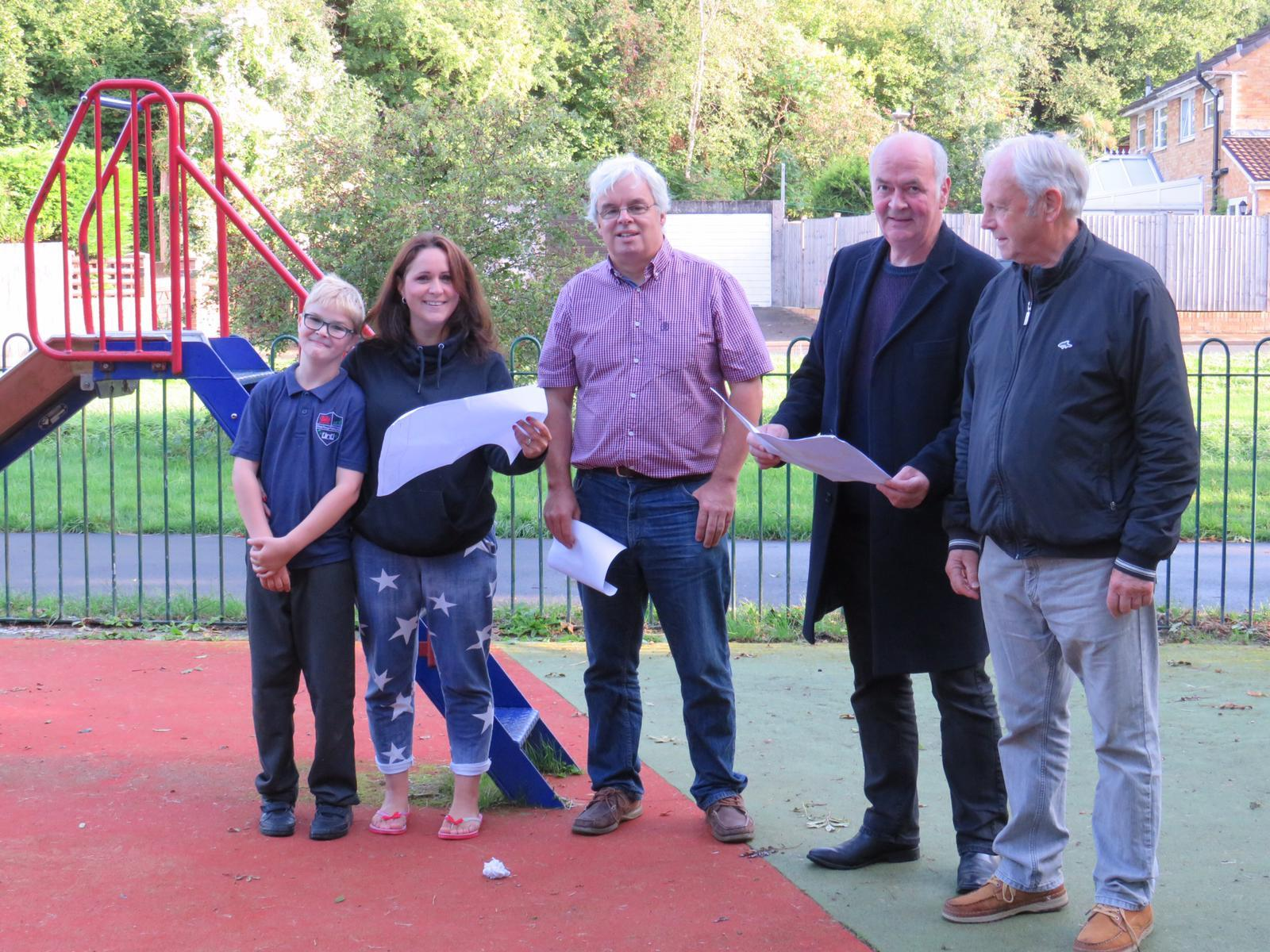 Overhaul on the way for 'dated' Murchfield playground after community campaign