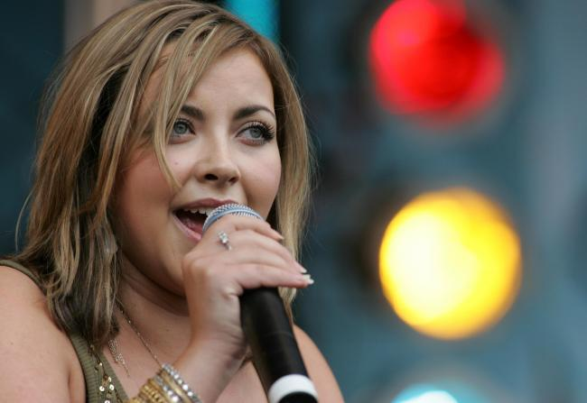 Charlotte Church at Power in the Park 2005