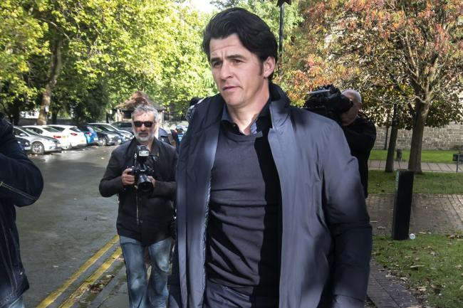 Joey Barton in court