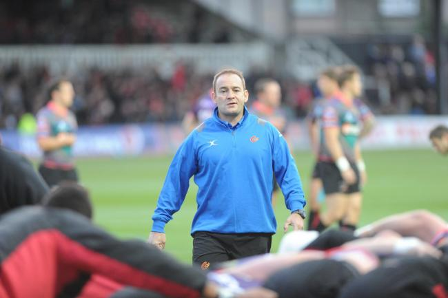 BOSS: Darren Edwards will be in charge of Wales Women for their Six Nations clash with Scotland