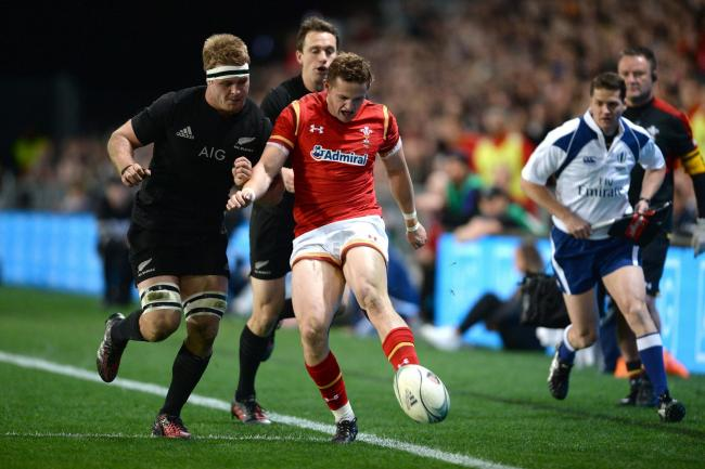 CHANCE TO IMPRESS: Hallam Amos will start against the All Blacks