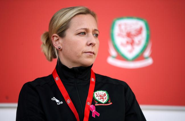 CONTENT: Wales Women manager Jayne Ludlow
