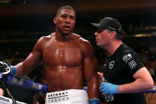 Anthony Joshua insists he will always have Rob McCracken, right, in his corner
