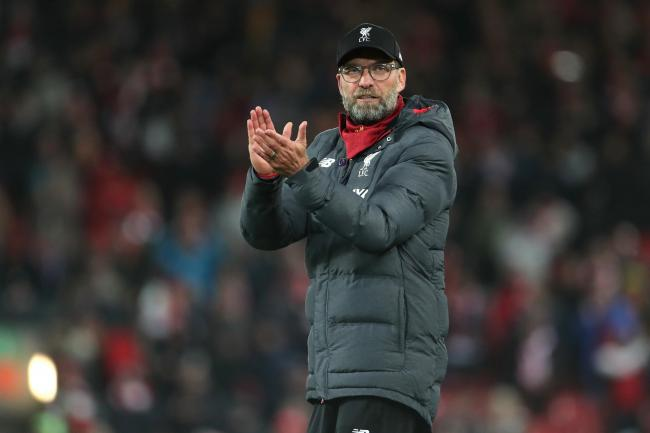 Jurgen Klopp has paid tribute to the NHS