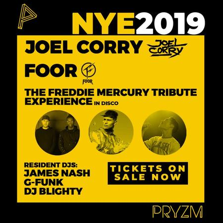 New Years Eve ft. Joel Corry & FooR