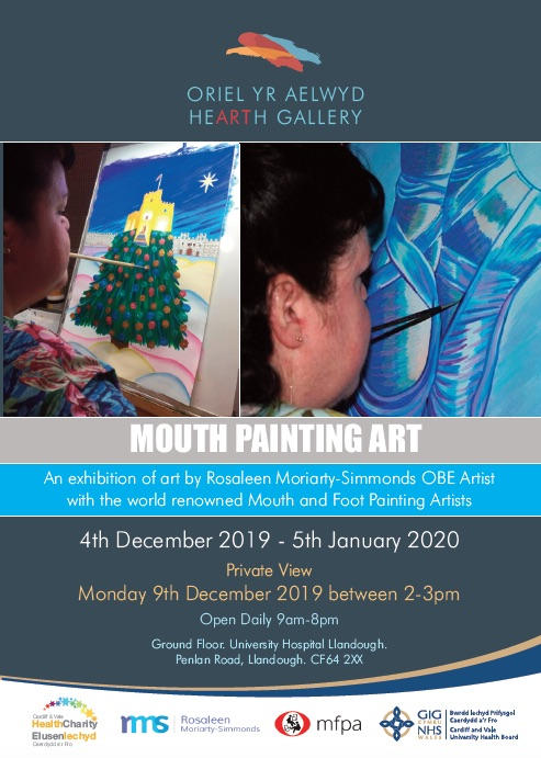 Mouth Painting Art Exhibition