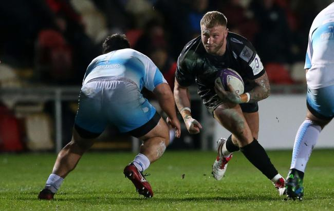 DECISION: In-form Wales star Ross Moriarty is weighing up his options ahead of his Dragons contract expiring this summer