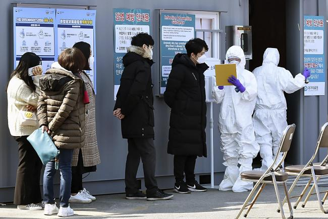 South Korea Virus Outbreak