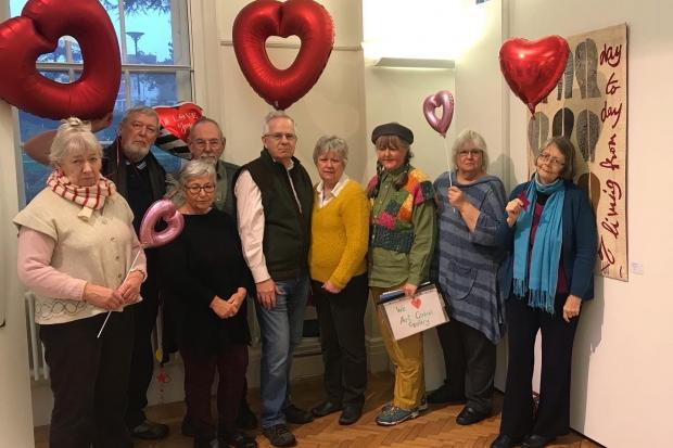 Gallery campaigners exhibit love for art