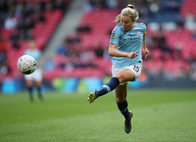 Lauren Hemp rescued a dramatic point for City