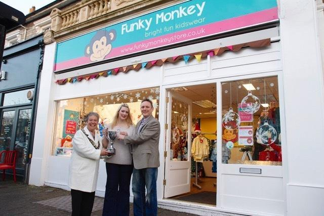 Funky Monkey owner, Justin Horton (right), says that income has fallen by 30 per cent