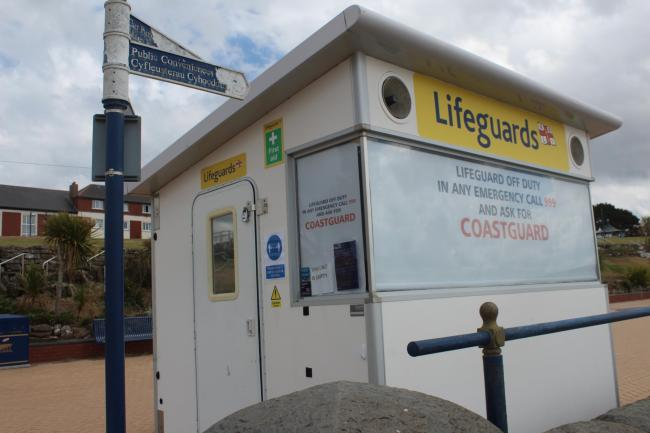 Whitmore Bay lifeguards, Barry Island