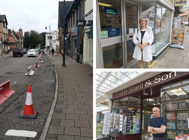 Business owners and residents call for rethink to Penarth parking restrictions