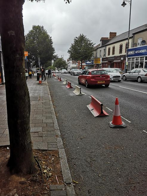 Penarth Times: Windsor Road on Tuesday