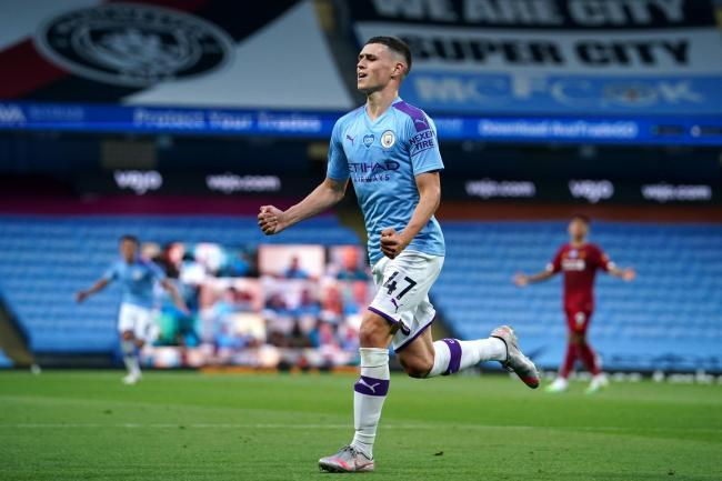 Phil Foden was outstanding as Manchester City thrashed Liverpool
