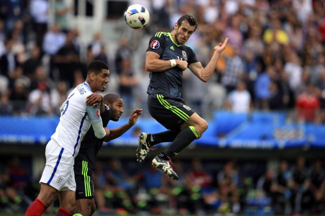 Wales star Gareth Bale in action against England at Euro 2016