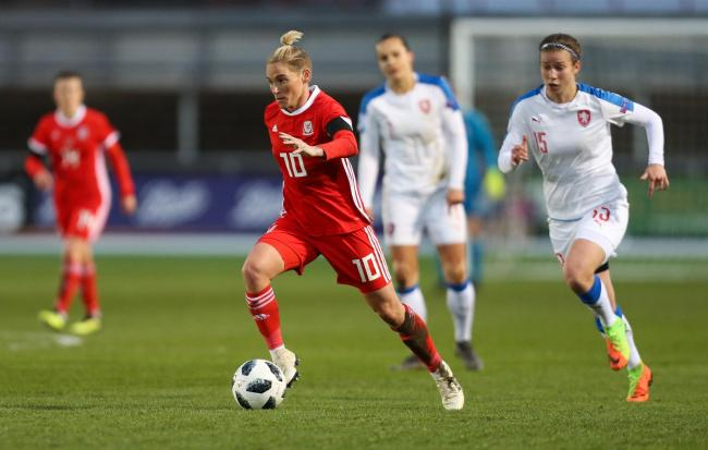 ROYAL: Jess Fishlock has signed for Reading to boost her injury comeback
