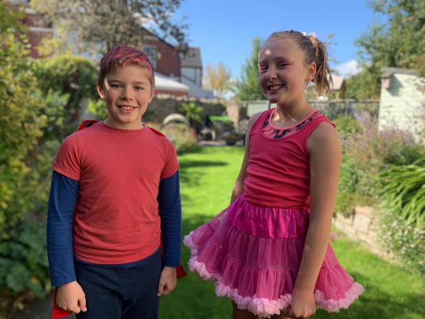 Penarth Times: Holly Watson and Zachary Hollinshead, Race for Life