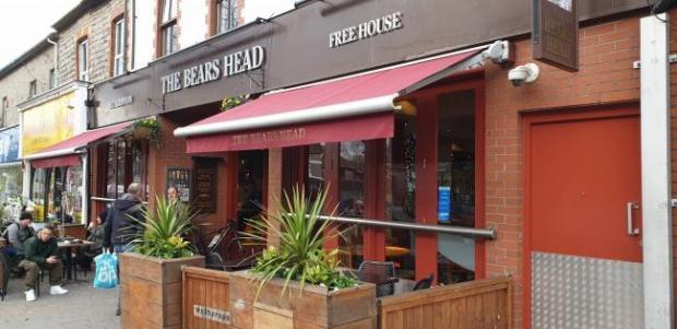 Penarth Times: The Bears Head pub