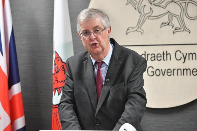 First minister, Mark Drakeford
