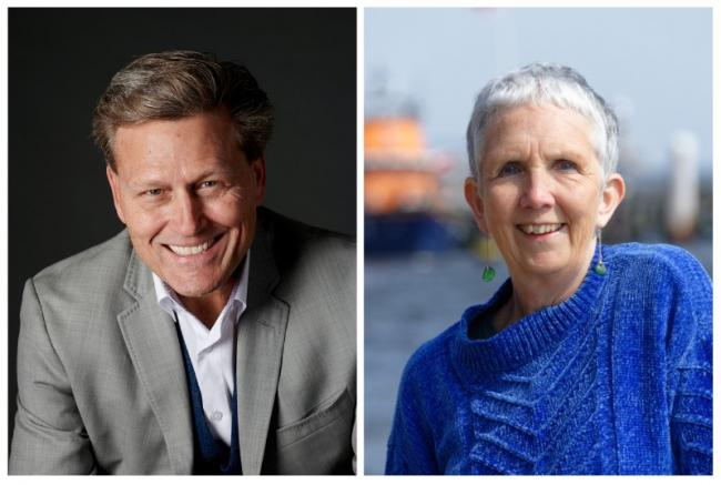 David Baldacci and Ann Cleeves