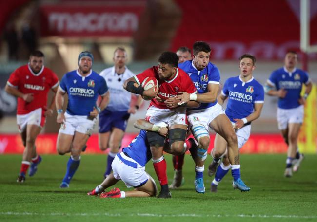 SUPERB: Former Dragons number eight Taulupe Faletau was inspirational for Wales