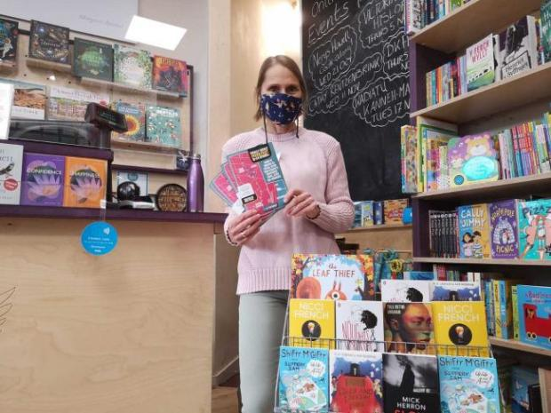 Penarth Times: Mel at Griffin Books
