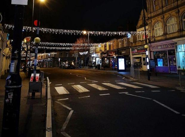 Penarth at Christmas in 2020. Picture: Penarth Town Council