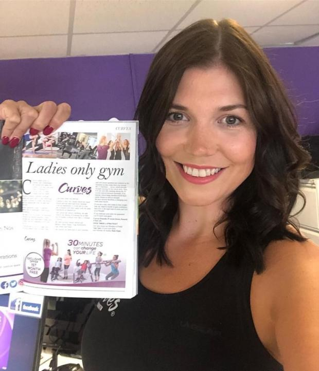 Penarth Times: Rachael Beasley of Curves Penarth