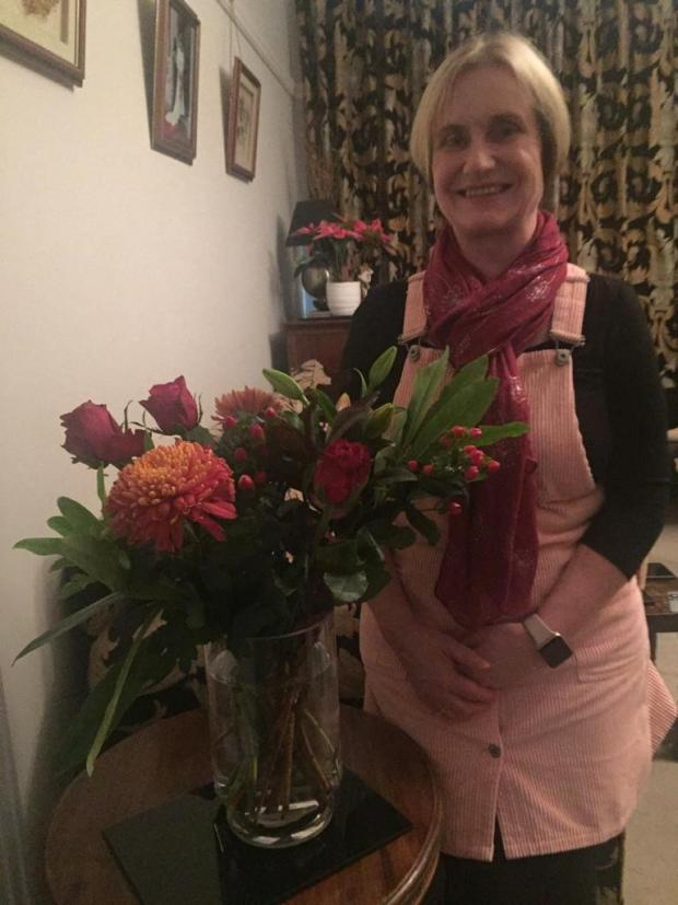 Penarth Times: The January winner, Bridgette Wilcox