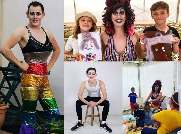 Drag queen 'on mission to help every child feel adored'