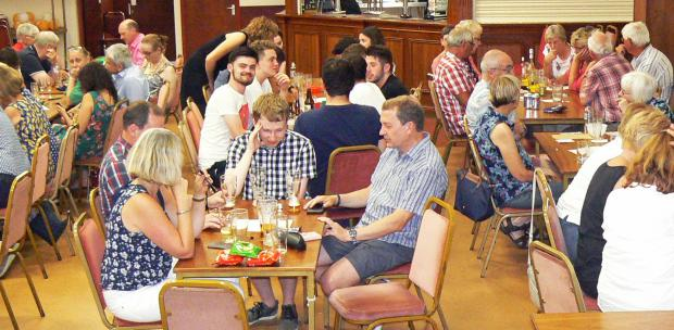 Penarth Times: Supporters enjoying a pub quiz to support the committee in 2018.