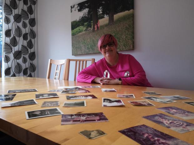 Penarth Times: Alex Denton, a keen collector of family photos