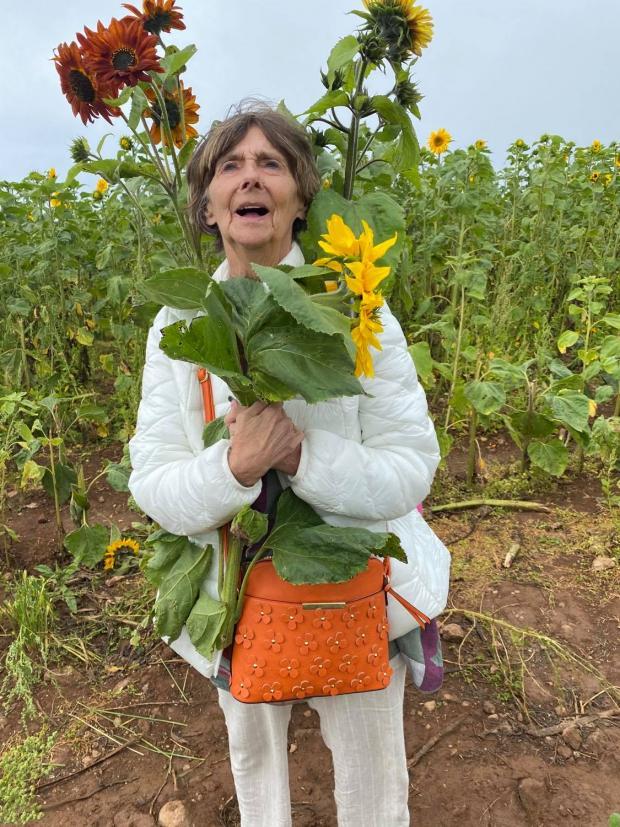Penarth Times: Pat Pitten, Mrs Denton's mother
