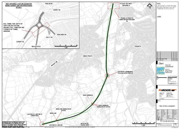 Penarth Times: Bypass plans