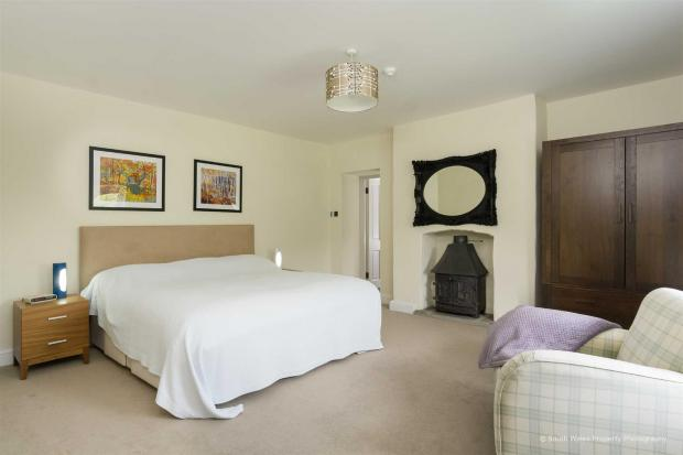Penarth Times: One of the five bedrooms. Picture: Zoopla/Brinsons & Birt