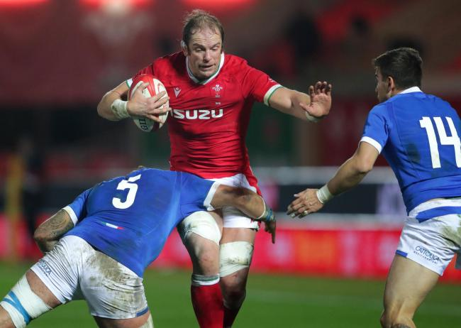 WARY: Alun Wyn Jones says Wales cannot be sloppy against Italy in Rome