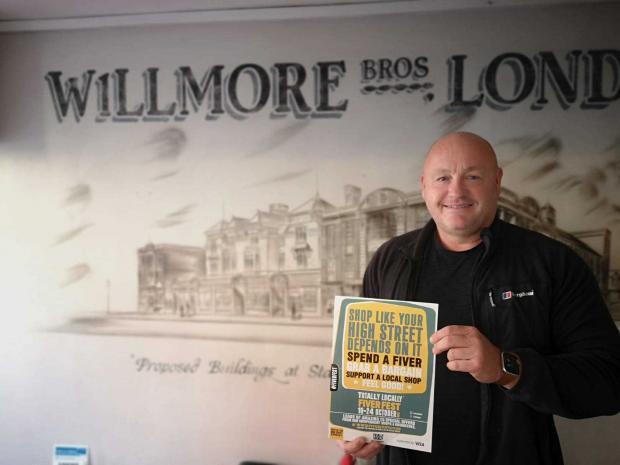 Penarth Times: Matt Holland, who owns café deli Willmore's 1938 alongside partner Charlotte Court