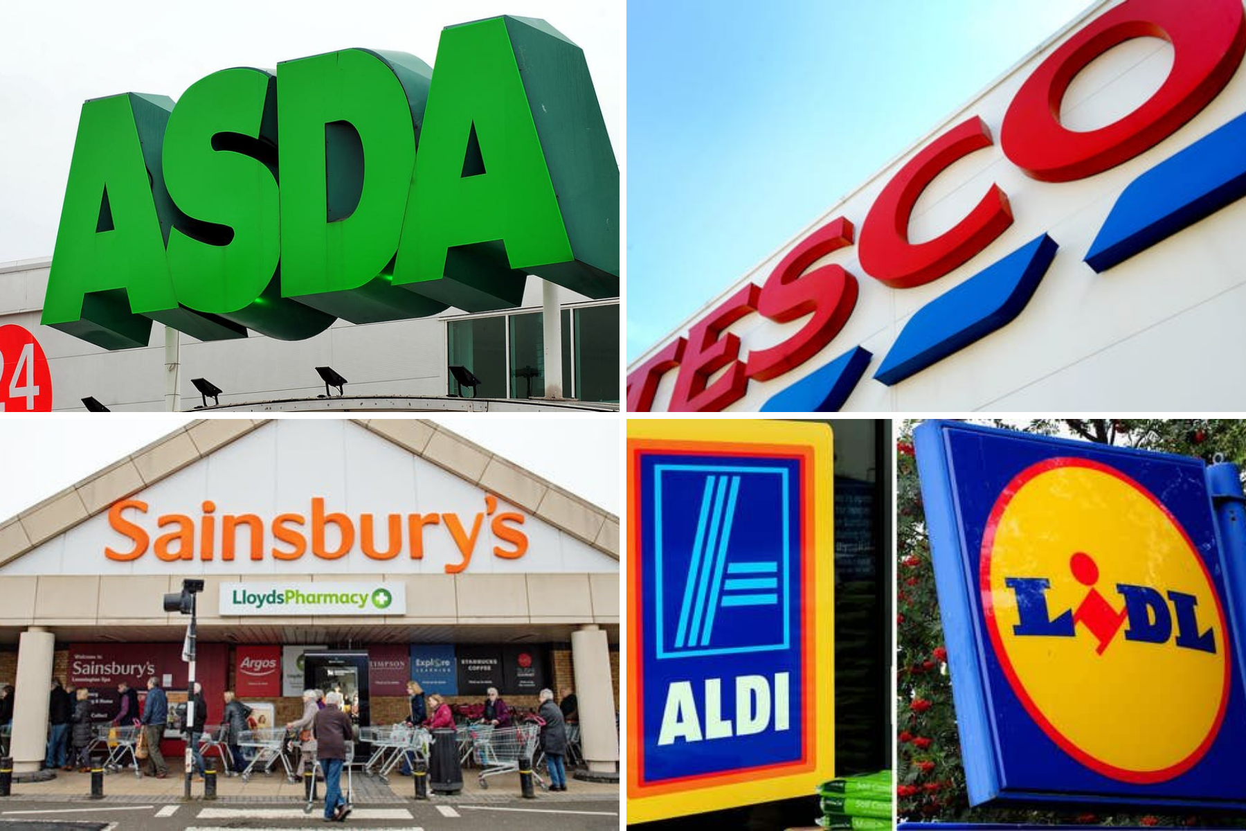 Tesco, Asda and Morrisons among UK supermarkets issuing urgent products recalls