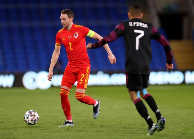 LANDMARK: Chris Gunter's 100th cap was marked with a win for Wales. Picture: Huw Evans Agency