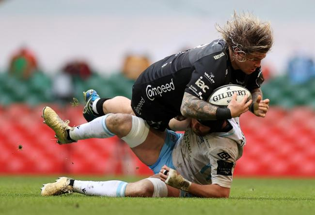 STAYING: Richard Hibbard has earned a new Dragons deal